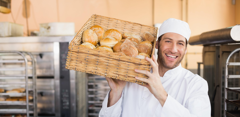 Boulanger travail à façon artisanal artisanat